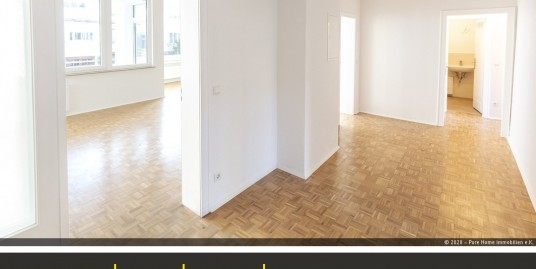 1 A Lage, frisch renovierte drei Zi Wohnung, Zooviertel